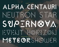 Cassiopeia is a typeface by Pedro Canário. Inspired by constellations, pokémons and geometric forms, it's a font created with the sole purpose of creating bold typographic statements. Originally a vector font with only one weight, it has been redrawn with…
