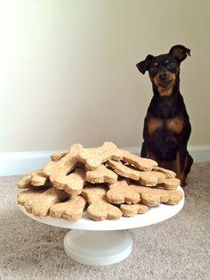 Oatmeal/Peanut Butter Dog Treats
