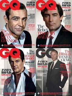 James Bond GQ Magazine