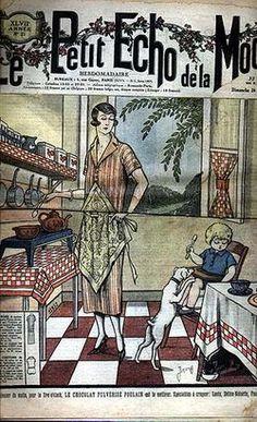 Le Petit Echo de la Mode, May 1925