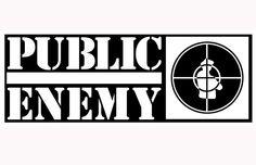 Public Enemy - The 50 Greatest Rap Logos Enemy Front, Hip Hop Logo, Arte Hip Hop, Name Origins, Hip Hop Party, Fight The Power, Live Wire, Music Logo, Powerful Images