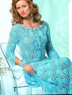 Resultado de imagem para vestidos de croche curtos