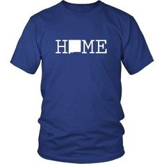 Sweet Home New Mexico State T-shirt - District Unisex Shirt / Royal Blue / S | Unique tees, hoodies, tank tops  - 1