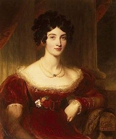 ca. 1810 Anne Frances Boscawen, née Bankes (1789–1864), Countess of Falmouth by Sir Thomas Lawrence (National Trust, Kingston Lacy - Wimborn...
