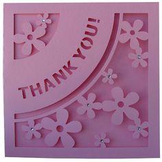 """DIGITAL ART by Daniela Angelova: """"Thank you!"""" card"""