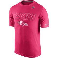 Baltimore Ravens Nike Breast Cancer Awareness Legend Performance T-Shirt -  Pink Fan Gear 93de24c7c