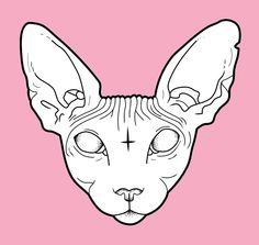 Sphynx Cat by natashasines
