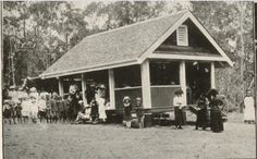 2 November 1918 Opening of Antigua School, the building of a design recently adopted for smaller schools. SLQ