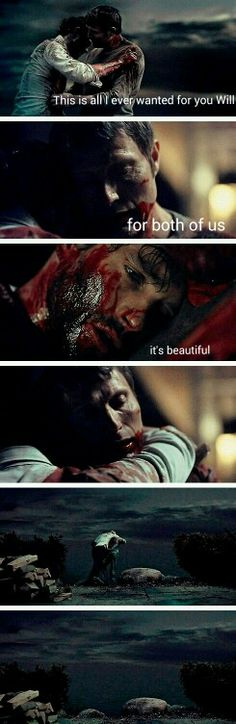 """Will Graham and Hannibal: """"It's beautiful."""""""