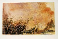 Fayga Ostrower,  Sem título, 1985 litografia em cores, 58 X 80