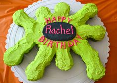 slime party birthday cake - Google Search