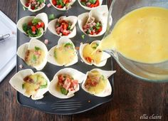 Easy Breakfast Burrito Bites for Brunch or Busy Mornings - Ella Claire