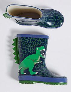Kids' Novelty Wellington Boots   M&S