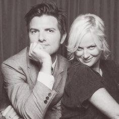Adam Scott & Amy Poehler. Love.