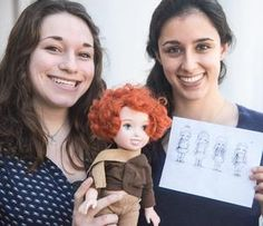 The two University of Illinois students have started a company, Miss Possible, that aims to produce dolls based on historical figures, such as Marie Curie, the Nobel Prize-winning physicist and chemist who discovered the elements radium and polonium.