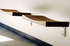 seat by henrybuilt – simple, teak, wall-mounted and suitable for indoor/outdoor/bathroom use