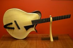 "* MIKE SANKEY ~ Mike Sankey's ""Tortoise"" ~ His ""latest interpretation of a modern archtop guitar"" ~Web page for OTHER GREAT PICS OF THIS GUITAR  - check it out! > http://www.sankeyguitars.com/tortoise/ .... as well as his gallery of others!  http://www.sankeyguitars.com/tortoise/"
