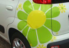 giant daisy decal car - Google Search