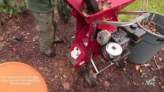 Learn how to make your own mulch with this video tutorial | Gardening Ideas, Tips and Garden Skills: survivallife.com #survivallife #prepping