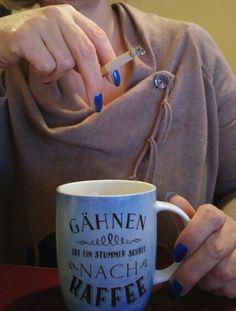 Coffee and Cigarette Coffee And Cigarettes, Mugs, Tableware, Kaffee, Dinnerware, Tumblers, Tablewares, Mug, Dishes