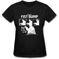 Big Hero 6 Baymax Women's T-Shirt Girl Tee Fist Bump Balalala Walt... ($17) ❤ liked on Polyvore featuring tops, t-shirts, black, women's clothing, print t shirts, black top, print tees, pattern shirts and shirts & tops