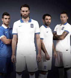 Nice Day Sports: Greece Home Away Jersey Shirt 2014 2015 Brazil Wor...