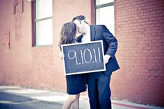 """such a fun way to """"save the date"""""""