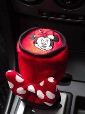 Disney Minnie Mouse Car Accessories Manual Shift Knob Gear Stick Cover