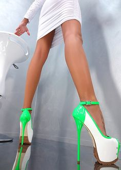 Ladies these High Heels....are an investment.....wear them and you will get whatever you want. Absolutely Breath Taking !
