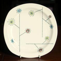 Midwinter Flower Mist Hotelware. Jessie Tait