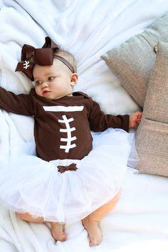 Baby costume football
