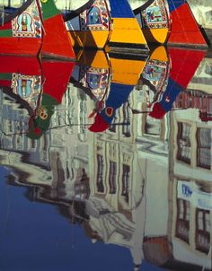 Moliceiro boats, Aveiro, Portugal  ♥ ♥ www.paintingyouwithwords.com