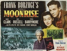 Moonrise Director: Frank Borzage Ethel Barrymore, Rex Ingram, Dane Clark, Harry Morgan, and Gail Russell in Moonrise Vhs Movie, Movie Titles, Movie Posters, North America Regions, Harry Morgan, Movie Collage, Film Distribution, Republic Pictures, The Criterion Collection