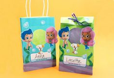 Bubble Guppies Goody Bags - Nick Jr website
