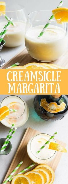 Ultimate Creamsicle Margarita - like a dreamsicle that will get you drunk!