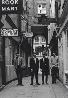 The Beatles in Rupert Court, 1960s