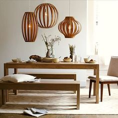 Boerum Dining Table - Natural - Maybe a little less touchy than the Crate and Barrel table? Find out.