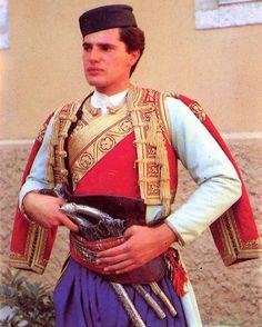 FolkCostume: Mens Costume of Crna Gora, Црна Гора. Montenegro, The Black Mountain
