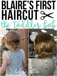 Blaire's First Haircut: The Toddler Bob