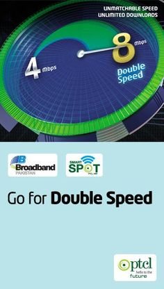 Order a 4Mbps connection now and enjoy 8Mbps speed without any additional charges. All existing qualified 4Mbps Broadband customers are being upgraded to 8Mbps with no extra charges till 31st January 2015.