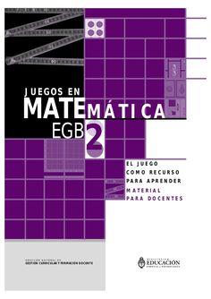 Autoras: Mónica Agrasar y Silvia Chara  Publicado por el Ministro de Educación, Ciencia y Tecnología de Argentina. 2004.