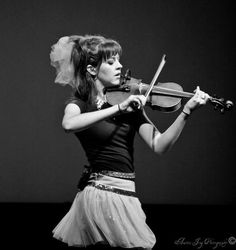 Lindsey Stirling. Her music is truly amazing!!!