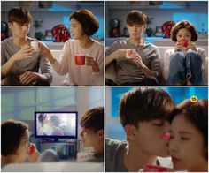 'She Was Pretty' releases sweet teaser featuring Park Seo Joon and Hwang Jung Eum! | allkpop