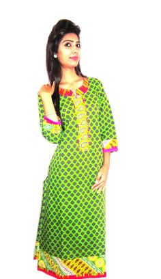 Long straight printed kurti. (Offer Price: Rs 499 , Offered Discount: 9%) ** BUY NOW ** [MRP: Rs 549]