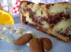 Cake moelleux à l'orange et au nutella