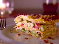 Asparagus Lasagna recipe from Giada De Laurentiis