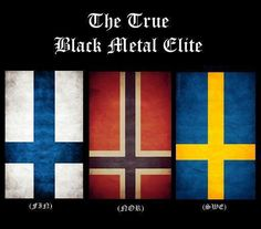 Black Metal Elite definitely.  Behexen, Watain, and Mayhem.