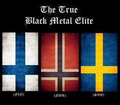 Black Metal Elite definitely.  Behexen, Watain, and Mayhem.