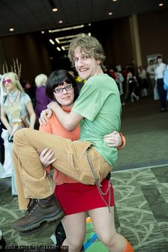 Shaggy Rogers and Velma Dinkley, Sakura-Con 2013 - Saturday - Cosplay Photos from David DTJAAAAM Ngo