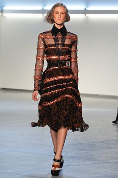 Rodarte Fall 2012 Ready-to-Wear Collection Slideshow on Style.com